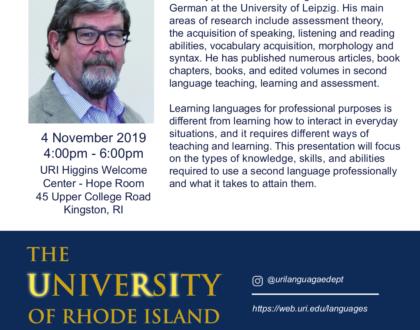 Vortrag von Prof. Tschirner